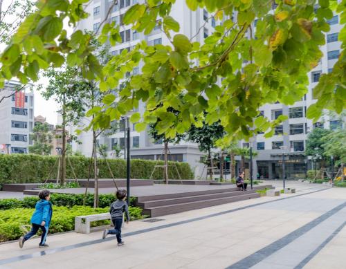 Khách ngoại ưu tiên những dự án có khuôn viên xanh, tiện ích đa dạng.