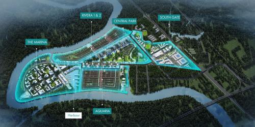 Waterpoint dự kiến ra mắt phân khu Rivera& Aquaria vào tháng 10.