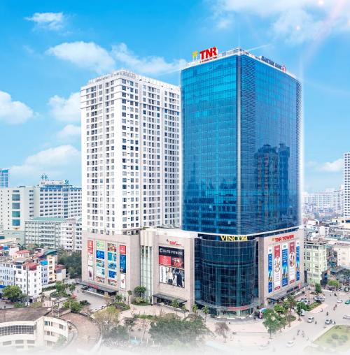 Tòa nhà TNR Tower nằm trong tổ hợp văn phòng, trung tâm thương mại, căn hộ.