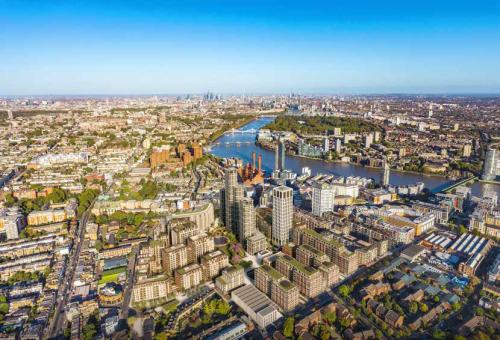 Dự án King's Road Park nằmbên sông Thames.