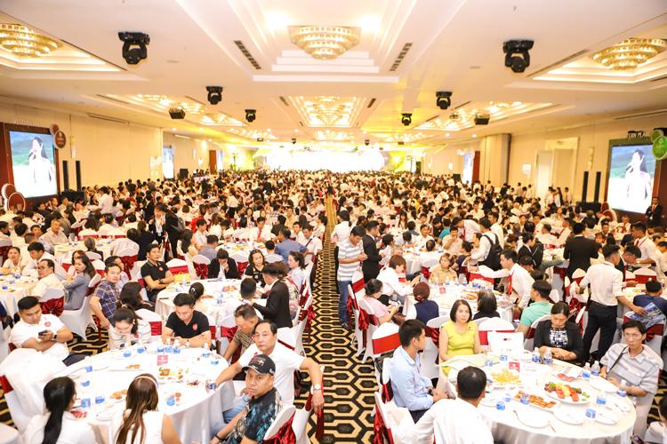 Hơn 5.000 khách hàng tham lễ tri ân khách hàng 2019 của Cát Tường Group.
