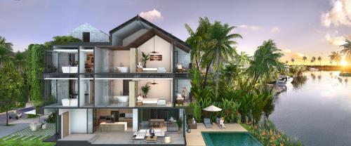 Quy hoạch các không gian nghỉ dưỡng độc lập, riêng tư tại Vela Villatel
