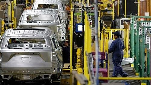 Nhà máy lắp ráp của Ford ở Chicago, Illinois. Ảnh: AFP