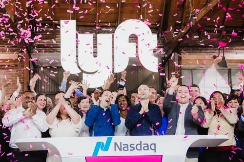 Lyft được định giá 15 tỷ USD trước khi chào bán cổ phần lần đâu, nhưng đến nay chỉ còn 12 tỷ USD. Ảnh: NYT