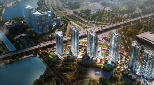 Dự án D'. Capitale tại Trần Huy Hưng, Hà Nội.