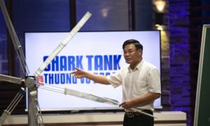 Shark Việt rót vốn cho ý tưởng tuabin gió của nhà sáng chế 5x