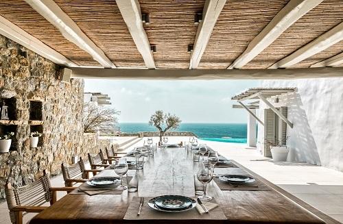 Dự án biệt thự liền kề cao cấp hướng biển Crystal Waters Aquamarine của Euroterra Capital tại Mykonos, Hy Lạp.