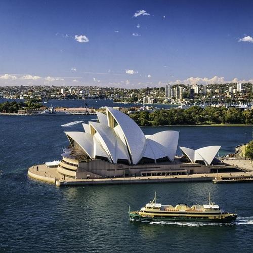 Nhà hát Opera Sydney.