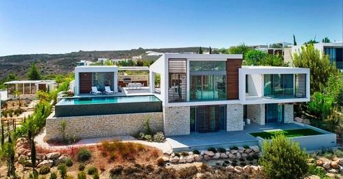 Một biệt thự thuộc khu nghỉ dưỡng Minthis Resort tại Síp do Pafilia phát triển.