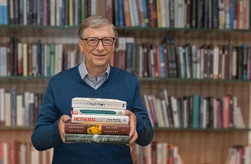 Tỷ phú Bill Gates giới thiệu những quyển sách đáng đọc. Ảnh:The Gates Notes LLC