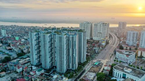 Dự án Imperia Sky Garden tọa lạc tại 423 Minh Khai, Hà Nội.