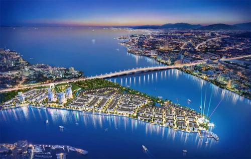 Phối cảnh tổng thể dự án Marine City.