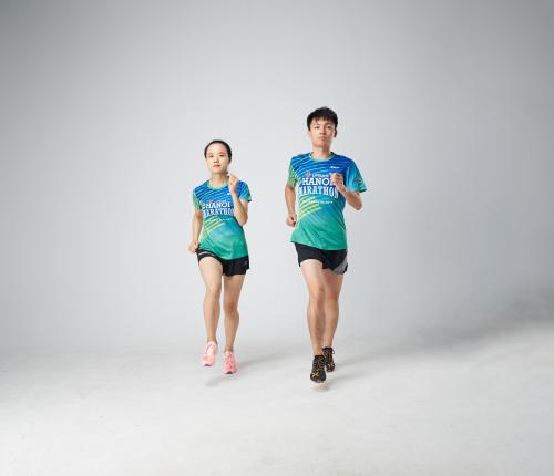 Xtep - thương hiệu thể thao nổi tiếng tại Hong Kong lànhà tài trợ trang phục chính thức cho giải chạy.