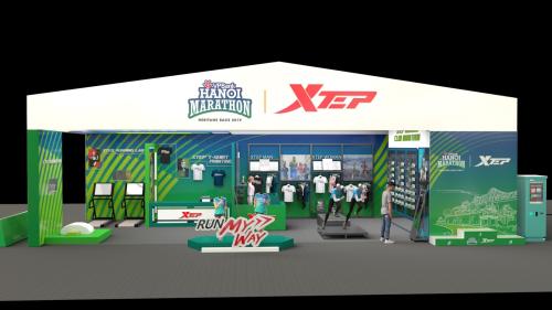 Booth của XtepHanoi sẽ được đặt tại khuôn viên Vườn hoa Lý Thái Tổ.