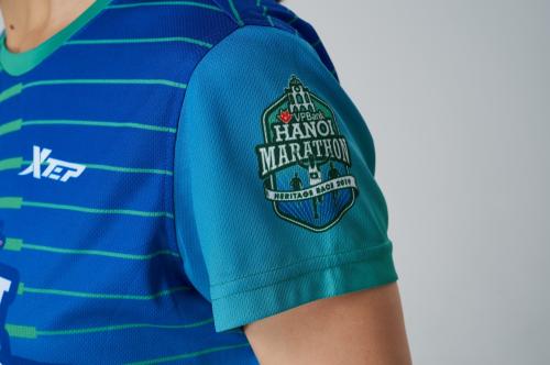 Mẫu áo dành cho các vận động viên VHM 2019.