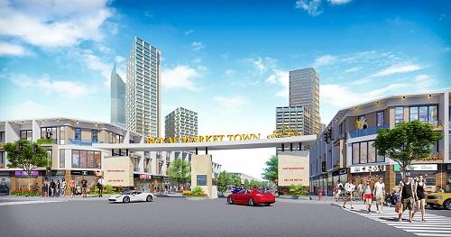 Shophouse Royal Market Town đáp ứng nhu cầu đầu tư tại Bình Dương
