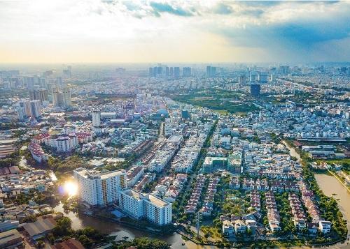 Khu đô thị Nam Long Tân Thuận Đông tại quận 7, TP HCM