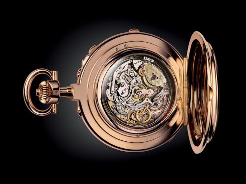 The Universellera đời năm 1899 và là một trong sốchiếc đồng hồ phức tạp nhất thế giới ở thời điểm đó.