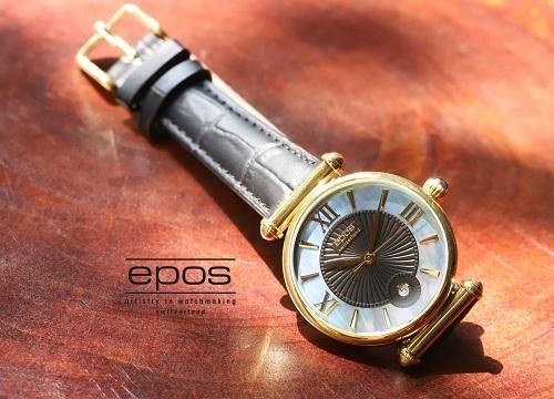 Đồng hồ Epos Swiss mang phong cách cổ điển, tinh tế và sang trọng.