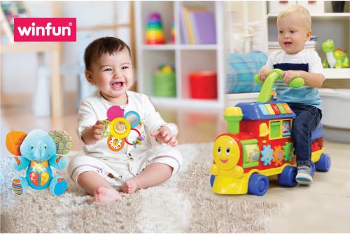 Các sản phẩm của Winfun đượcthiết kế với từng độ tuổi để phù hợp với mỗi giai đoạn phát triển trí não của trẻ.
