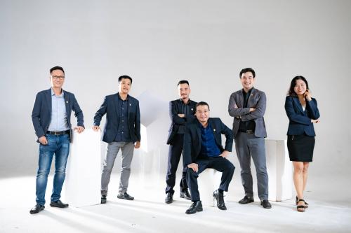 Ban lãnh đạo CUBIC Architects - Công ty Cổ phần kiến trúc Lập Phương.