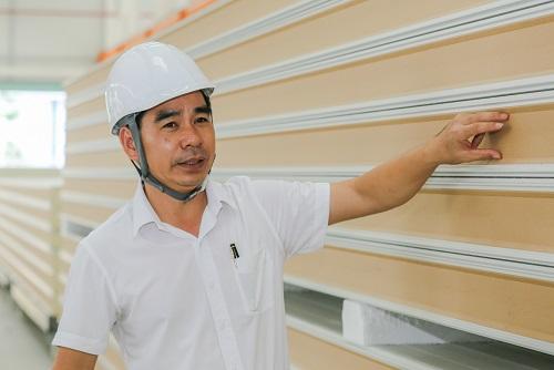 Ông Giáp Văn Thanh - Tổng giám đốc Cách nhiệt Phương Nam.