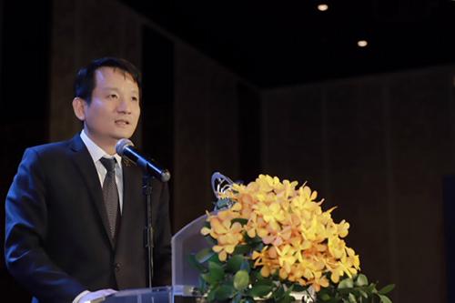 Ông Nguyễn Đình Tùng – Tổng Giám đốc OCB phát biểu tại sự kiện.