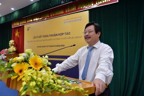Tổng cục trưởng Tổng cục Giáo dục nghề nghiệp Nguyễn Hồng Minh đặt kỳ vọng trong lần hợp tác lần này giữa hai bên