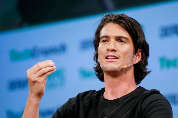 Adam Newmann, cựu CEO WeWork. Ảnh: Reuters