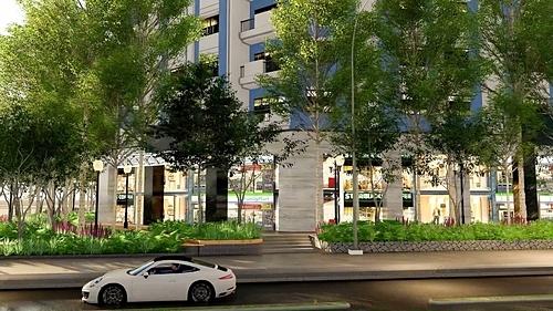 Ngay dưới tầng đế của khu căn hộ cao cấp này là khu Foodcourt với gần 20 nhà hàng, cửa hàng cafe, trà sữa cùng khu trung tâm thương mại đáp ứng được mọi nhu cầu của cư dân lưu trú.