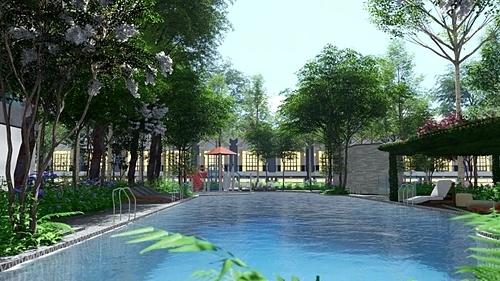 Một khu hồ bơi resort rộng gần 500 m2 với vốn đầu tư vài triệu USD cũng sẽ được xây dựng ngay trong khuôn viên khu căn hộ. Đây sẽ là một trong những hồ bơi resort lớn nhất tại thị xã Bến Cát. Theo chia sẻ của chủ đầu tư, giảng viên và sinh viên của Đại học Việt Đức là những khách hàng thu nhập cao, đến từ hàng chục quốc gia trên thế giới, nên tiêu chuẩn sống đáp ứng phải thực sự cao cấp.