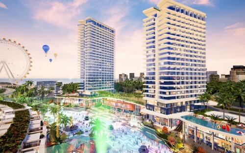 Phối cảnh Mũi Né Summerland Resort.