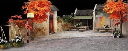 Một góc phố của Hà Nội mùa thu về sẽ được tái hiện lại trong lễ tri ân ngày 20/10 của MIK Home.