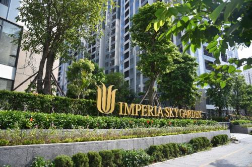 Cảnh quan bên ngoài dự án Imperia Sky Garden.