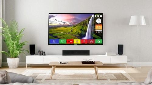 Tivi Sanco tạo nét hiện đại trong không gian ngôi nhà.