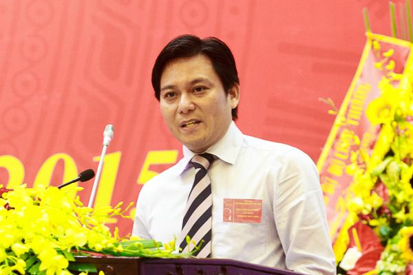 Ông Nguyễn Quang Định - Tân chủ tịch PGBank. Ảnh: PLX.