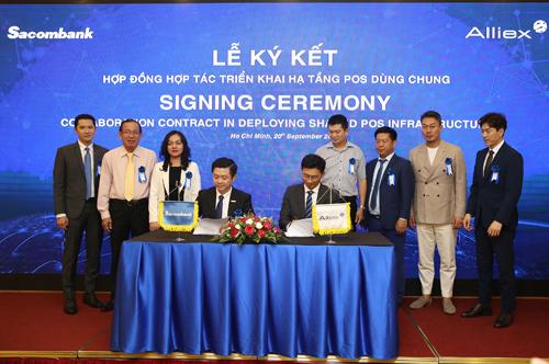 Sacombank và Allex Việt Nam sẽ cùng triển khai hạ tầng POS dùng chung, nhằm mang lại lợi ích to lớn cho ngành Ngân hàng, các thành phần kinh tế, doanh nghiệp và người dân.