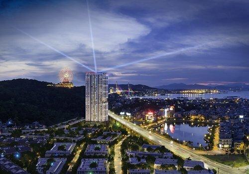 Phối cảnh tổng thể dự án Ramaday By Wyndham Ha Long Bay View.