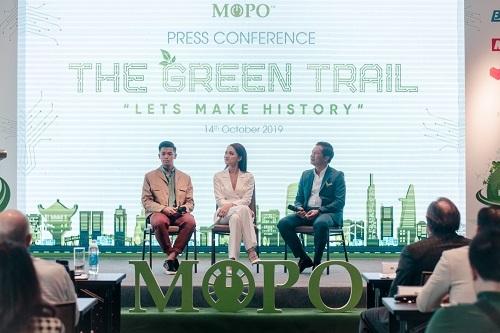Cung đường xanh thu hút nhiều người nổi tiếng tham gia, nhằm lan tỏa thông điệp về môi trường