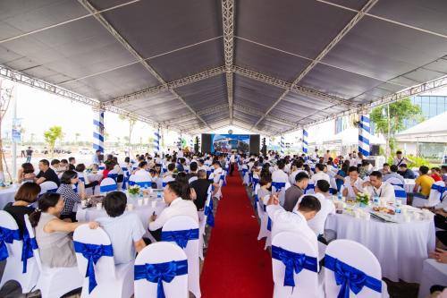 Sự kiện ra mắt Phố Nối House thu hút hơn 600 khách hàng tham dự.