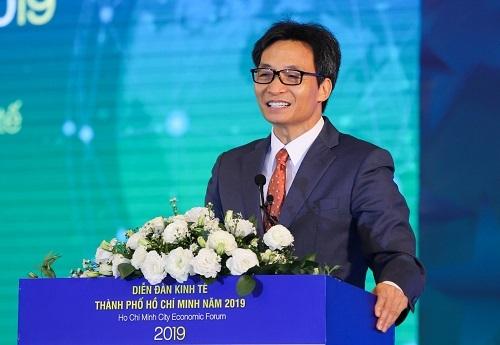Phó Thủ tướng Vũ Đức Đam. Ảnh: Quỳnh Trần.