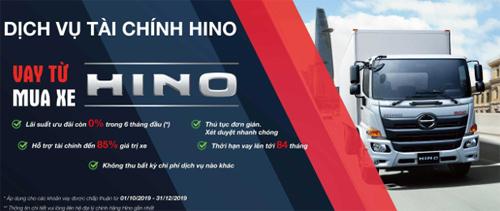 Dịch vụ tài chính Hino giúp khách hàng không phải chờ lâu đểcó được khoản tín dụng cần thiết cho việc mua xe.