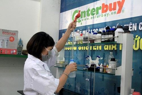 Phòng chuyên gia nước tại Enterbuy Việt Nam.