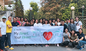 Manulife GWA Việt Nam cổ vũ phong trào chạy bộ cho nhân viên nữ