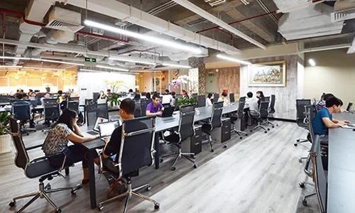 Một khu văn phòng chia sẻ đã hoạt động vài năm tại TP HCM. Ảnh: Dreamplex