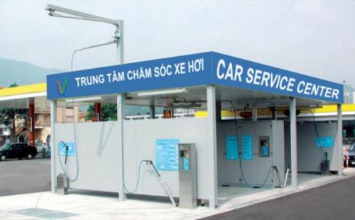 Các trạm rửa xe tự động được đề xuất xây dựng nhằm hạn chế bụi đất đi vào nội đô.