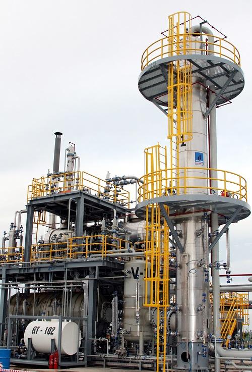 Dự án của PV Gas triển khai tại Thái Bình.