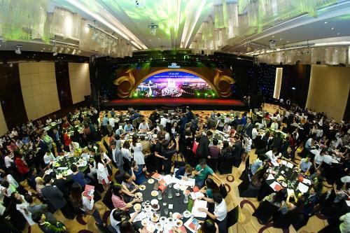 Sự kiện ra mắt dự án thu hút hàng trăm khách mời hôm 20/10.