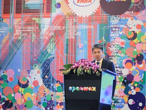 Ông Nguyễn Mạnh Hà, Tổng Giám đốc OpenWay Việt Nam.