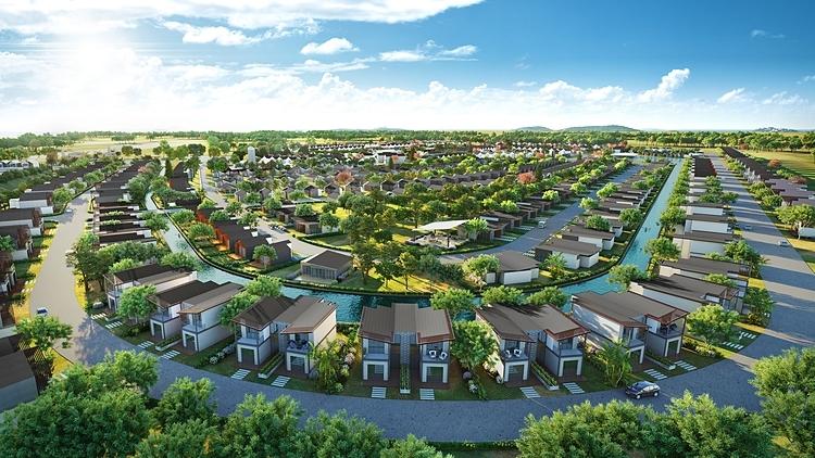 Phối cảnh các căn second home bên trong dự án NovaWorld Hồ Tràm.